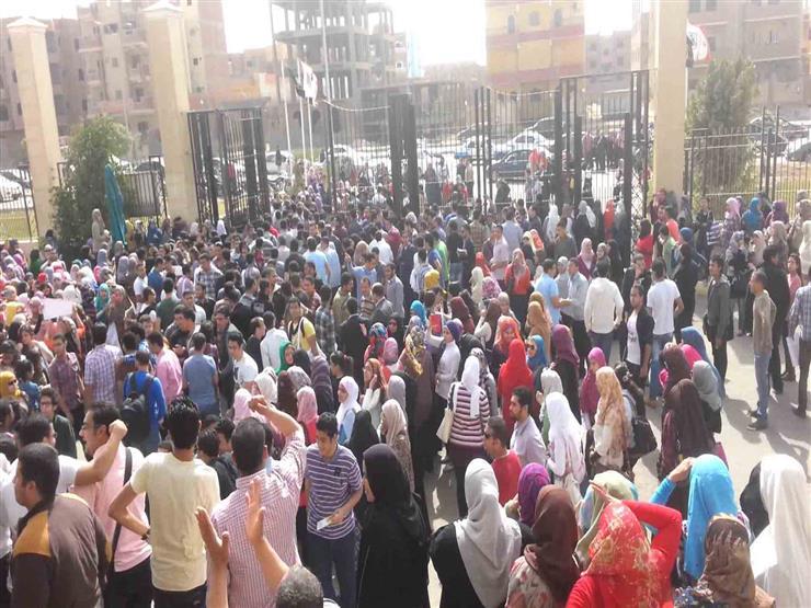 الرشيدي  يكشف لـ  مصراوي  عن تفاصيل واقعة اعتصام طلاب جامعة...مصراوى