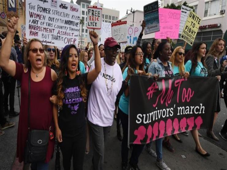 مسيرة في هوليوود ضد التحرش الجنسي