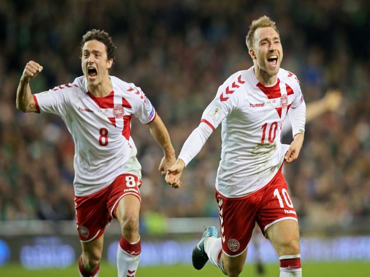 رسميا.. الدانمارك تحجز المقعد الـ30 في كأس العالم