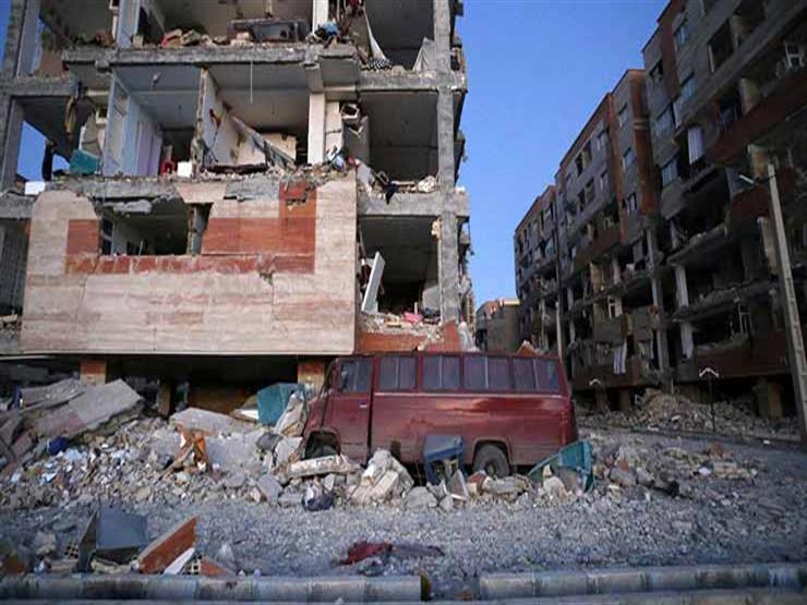 إيران: 436 قتيلاً ومئة ألف مشرد وتضرر 30 ألف مبنى جراء الزلز...مصراوى