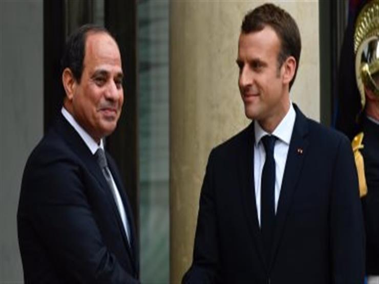 السيسي وماكرون يتفقدان العاصمة الإدارية الجديدة