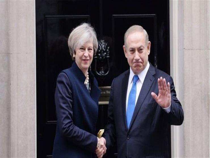 Image result for ماي تستقبل نتانياهو في الذكرى المئوية لاعلان بلفور
