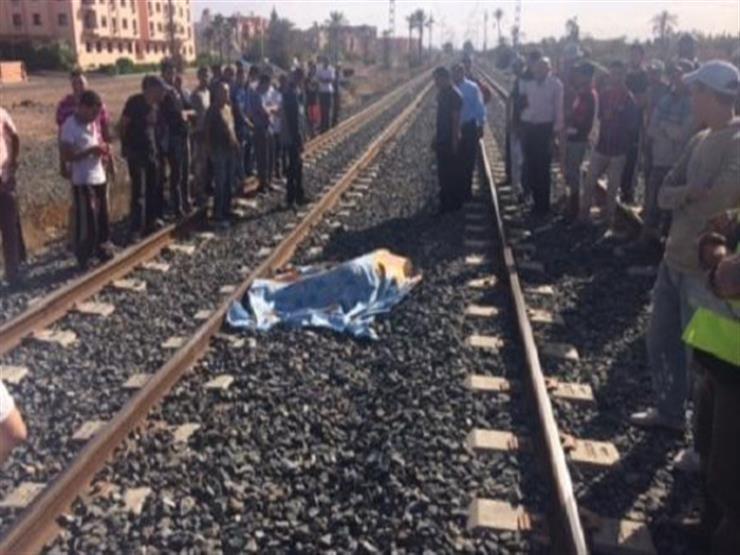 قطار يدهس ربة منزل أثناء عبورها شريط السكة الحديد بسوهاج
