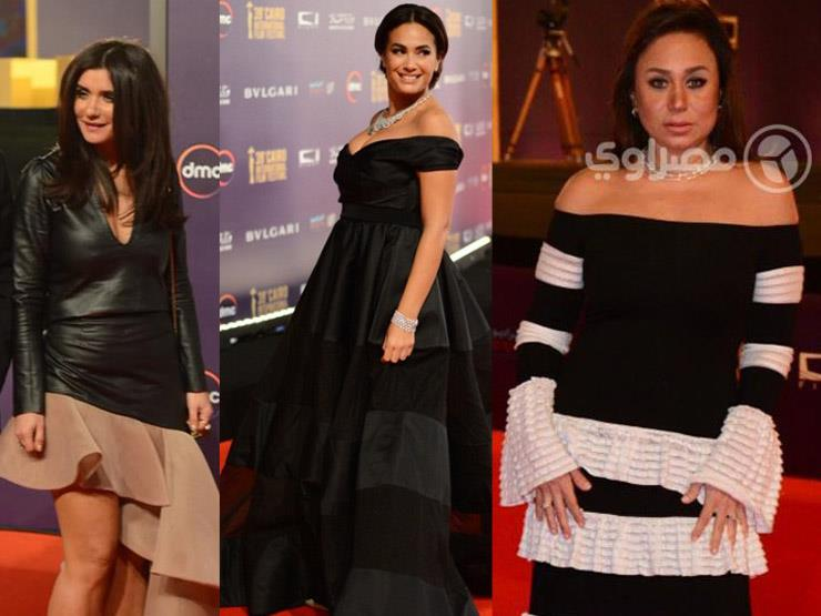 بالصور- أسوأ 10 فساتين في مهرجان القاهرة السينمائي