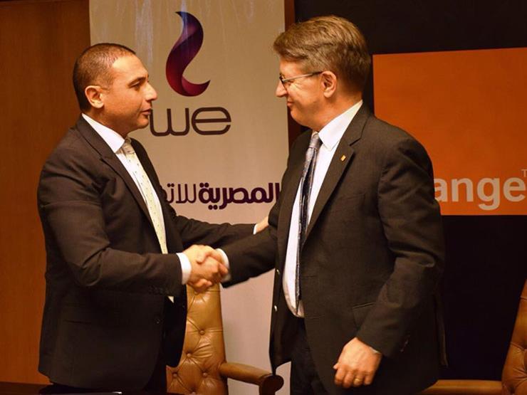 أورنج والمصرية للاتصالات يوقعان اتفاقية لتسوية نزاع حول خدما...مصراوى