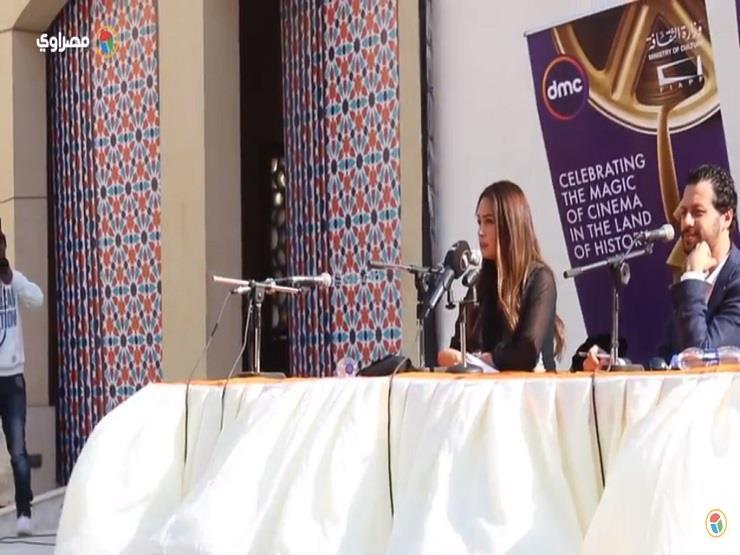 """هند صبري في ختام مهرجان القاهرة السينمائي: """"مش ندمانة على أي فيلم عملته"""""""