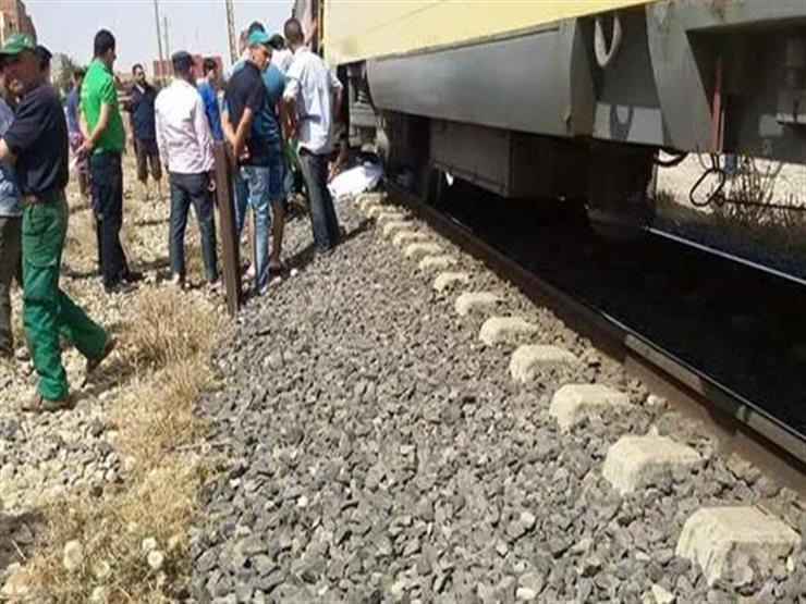 مصرع طالب أسفل عجلات قطار في الغربية