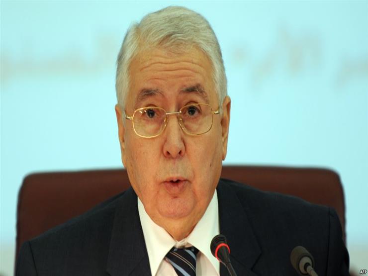 في أول خطاب له.. الرئيس الجزائري المؤقت يشكر الجيش والأمن