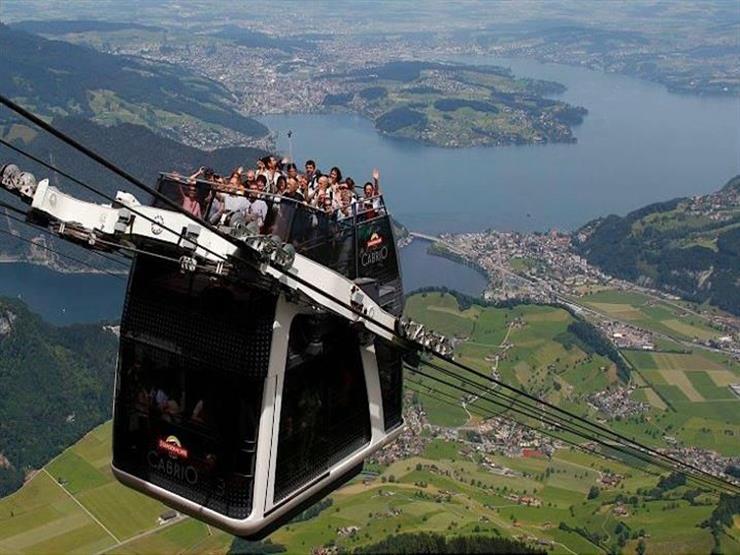 سويسرا تبدأ تشغيل أعلى تلفريك في العالم.. وهذه التكلفة