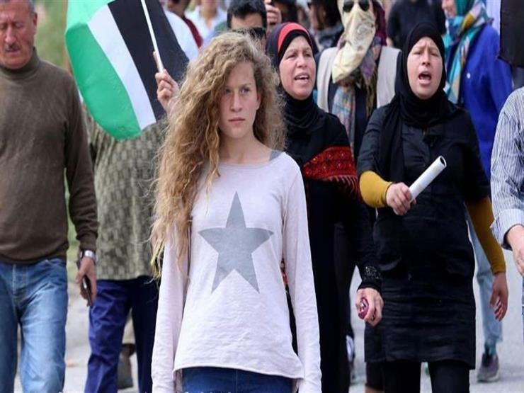 هكذا تضامن نجوم الفن مع الفلسطينية عهد التميمي...مصراوى