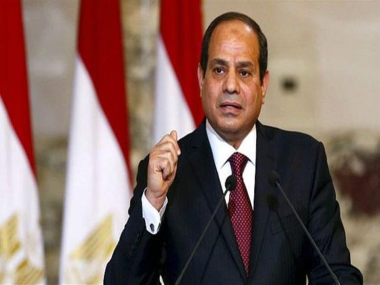 السيسي يؤكد حرص مصر على تكثيف التشاور والتنسيق مع جنوب أفريق...مصراوى