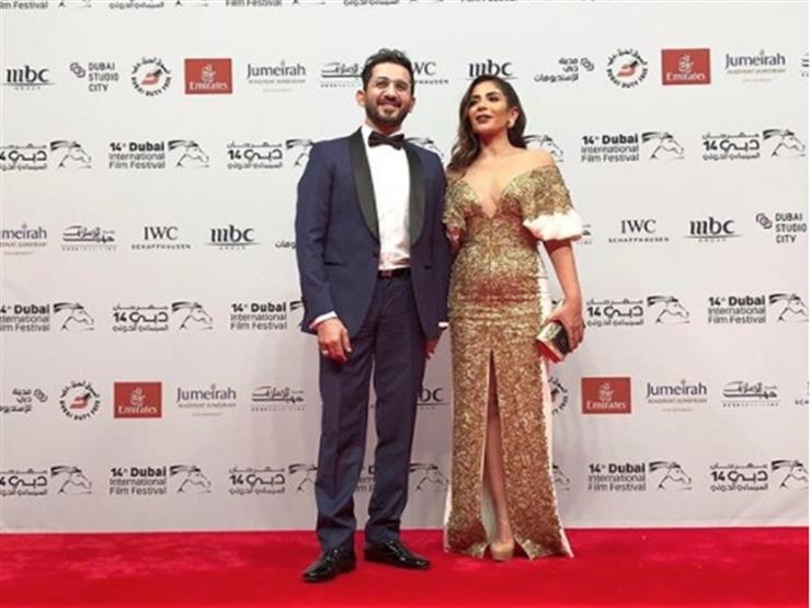 أحمد حلمي ومنى زكي يتألقان في افتتاح  دبي السينمائي ...مصراوى