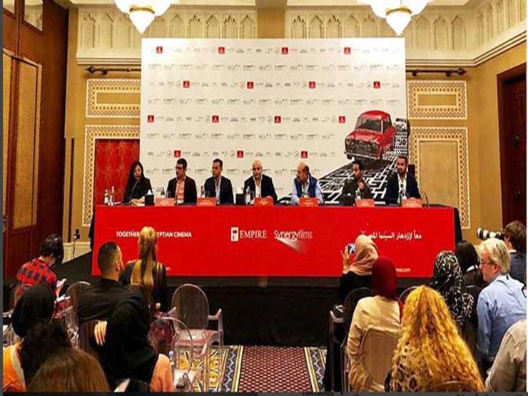 """محمد إمام وأحمد فهمي يعلنان انضمامهما لـ""""سينرجي فيلمز"""" في دبي"""