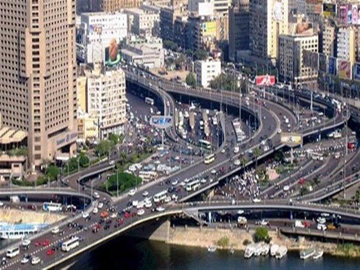 """المرور: بدء إصلاحات فواصل كوبري أكتوبر في """"العروبة"""" اليوم"""