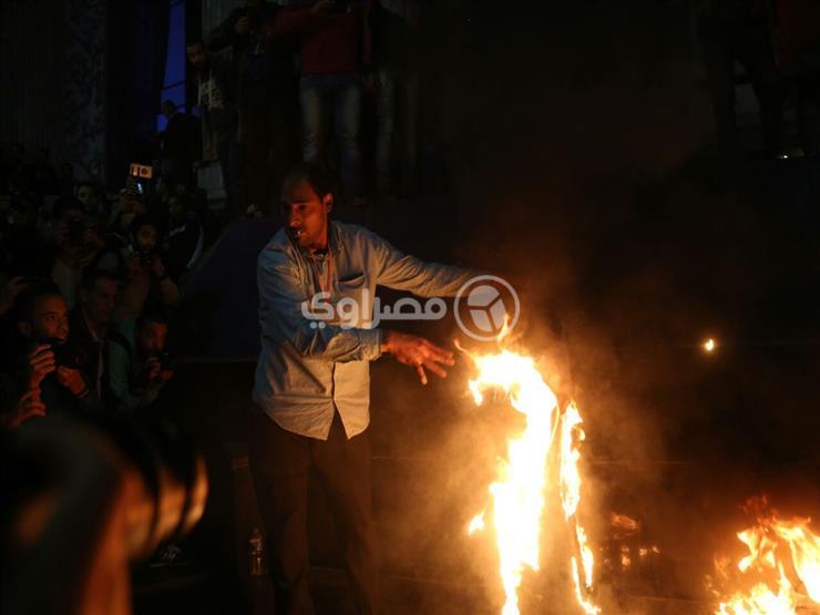 متظاهرو نقابة الصحفيين يفضون وقفتهم بعد القبض على 4 مشاركين