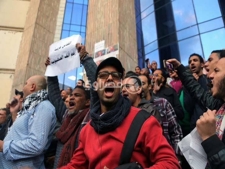 عضو مجلس الصحفيين: القبض على عضوين بالنقابة أثناء تظاهرة دعم فلسطين