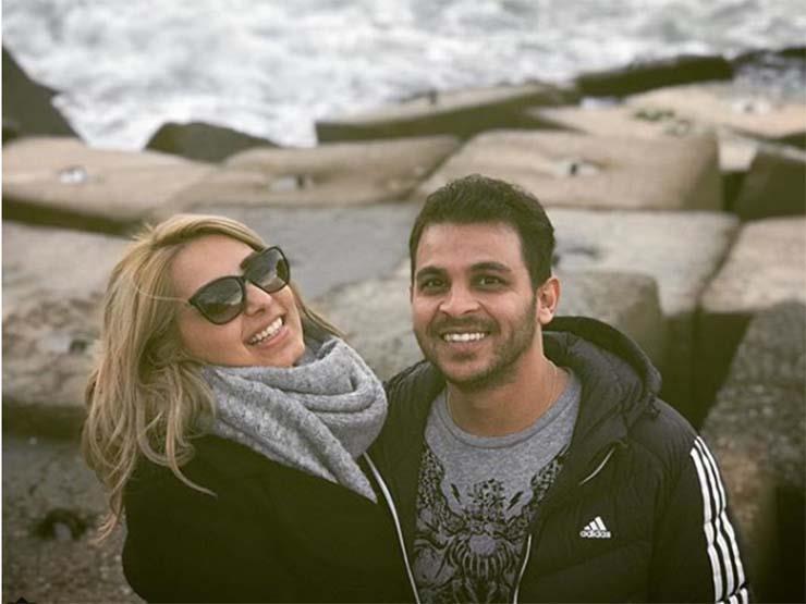 نتيجة بحث الصور عن مي حلمي ومحمد رشاد