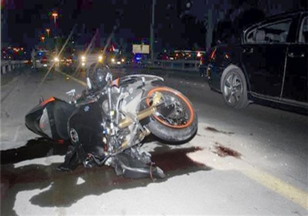 وفاة شخصين وإصابة آخر في حادث دراجة بخارية بدمياط