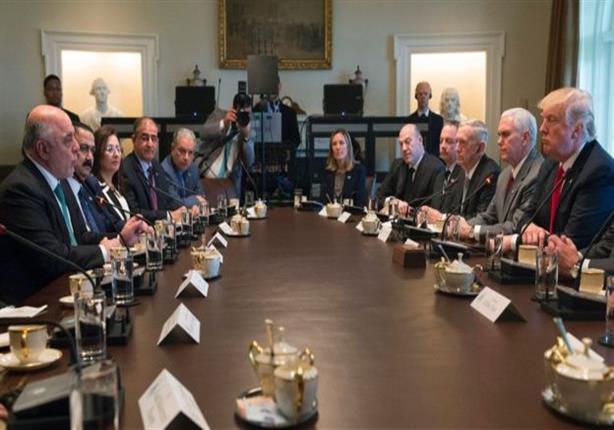 اجتماع ترامب والعبادي