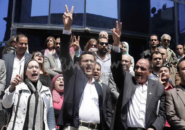 حوار- البلشي: الحكم بحبسنا إدانة ''غير مقبولة'' وسأدافع عن المهنة من ''سلم النقابة''