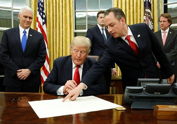 ترامب يلغي الرسوم المفروضة على الصلب والألومنيوم المستوردين من كندا والمكسيك