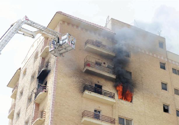 مصرع طفل في حريق التهم شقة سكنية بالزاوية الحمراء