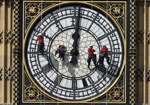 """ساعة """"بيج بن"""" تتوقف لأول مرة منذ 158 عاماً.. والسبب"""