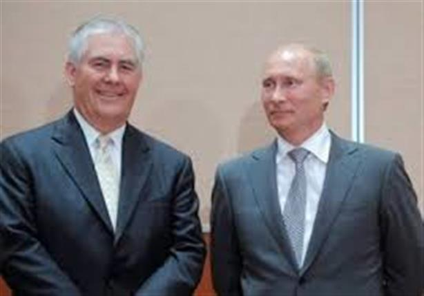 بوتين ربما يجتمع مع تيلرسون خلال زيارته الحالية لموسكو