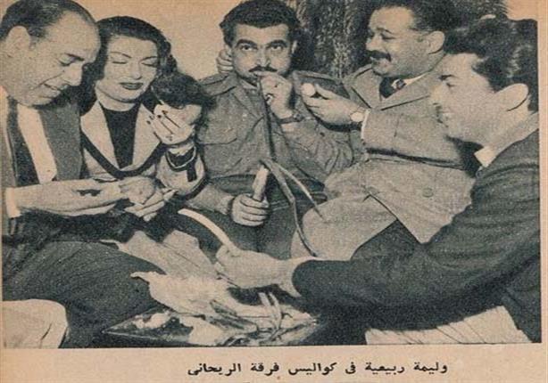 وليمة ربيعية في كواليس فرقة الريحاني