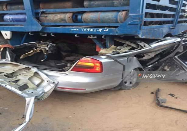 حادث مروع أودى بحياة 4 أشخاص بحدائق الأهرام