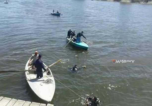 انتشال جثة فتاة من نهر النيل بجوار معدية الوراق