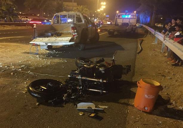 5 مصابين في حادث سير بكفر الشيخ
