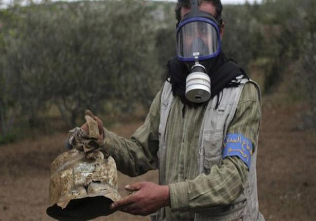 """قتلى ومصابون في """"هجوم بأسلحة كيميائية"""" في خان شيخون بشمال غرب سوريا"""