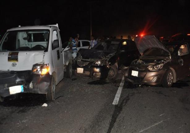 الصحة: ارتفاع عدد ضحايا حادث بني سويف إلى 14 حالة وفاة وإصابة 42