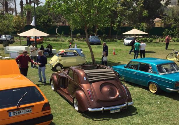 بالصور أكبر تجمع لـأقدم سيارات في مصر مصراوى