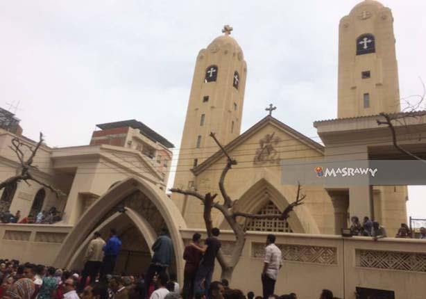 حكاية القنبلة التي عثر عليها في كنيسة طنطا قبل الانفجار بأيام