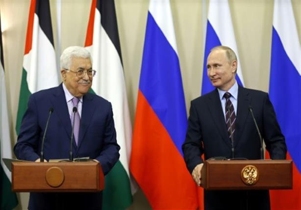 بوتين لعباس : سوف اواصل العمل مع أمريكا وإسرائيل لتعزيز حل الدولتين