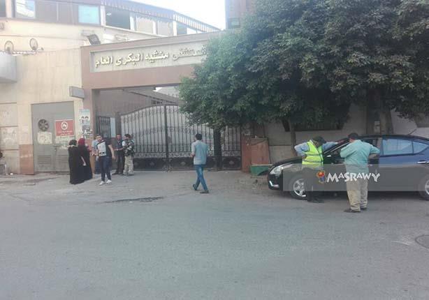 """""""مصراوي"""" داخل أروقة """"البكري"""" المحترقة: """"شوية دخان قلبوا المستشفى"""" - (صور)"""