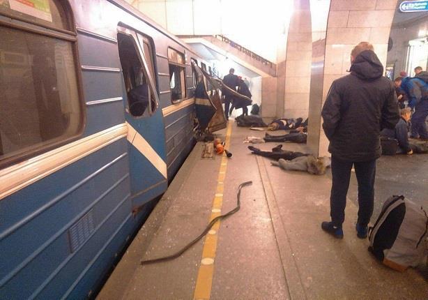 مكتب التحقيقات الفدرالي الروسي: توجيه تهم لـ3 أشخاص في تفجير بطرسبورج