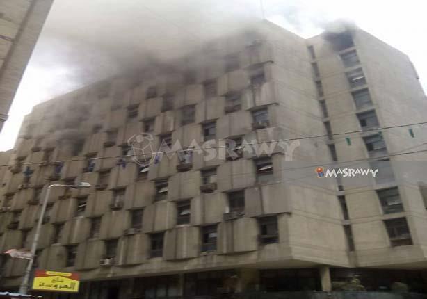 الصحة: ارتفاع عدد المصابين بحريق مبنى التأمينات إلى 20 حالة