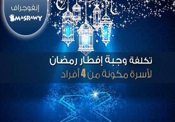 مصراوي يرصد متوسط تكلفة وجبة إفطار رمضان لـ 3 شرائح من الأسر