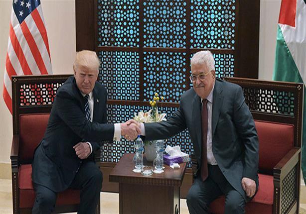 ترامب يصل قصر الرئاسة الفلسطينية للقاء عباس