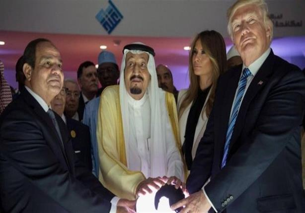 مواقف أثارت جدلا خلال زيارة ترامب للسعودية