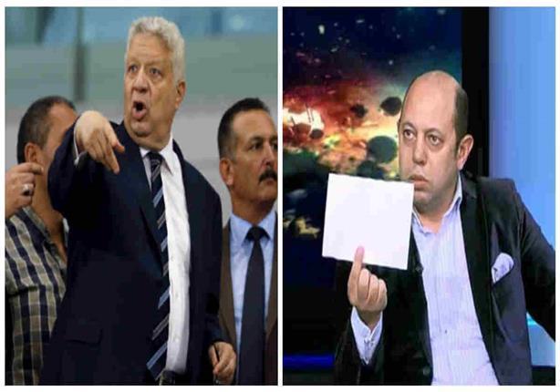 صورة.. أحمد سليمان يصعد أزمته ضد مرتضى منصور