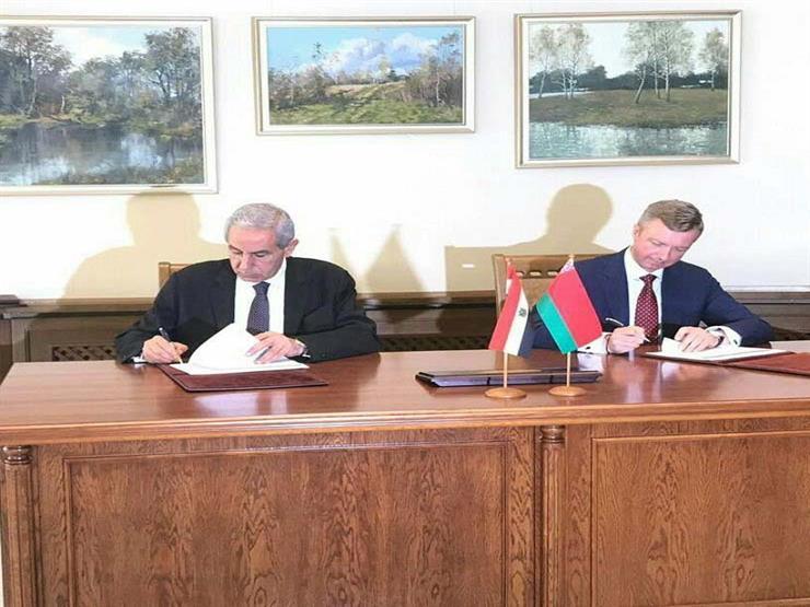 مصر وبيلاروسيا توقعان خارطة طريق بالأحرف الأولى لتعزيز العلاقات بين البلدين