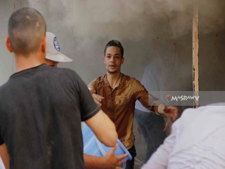 """40 صورة ترصد آثار حريق سوق إمبابة.. والمتضررون: """"كله بالدين والله"""""""