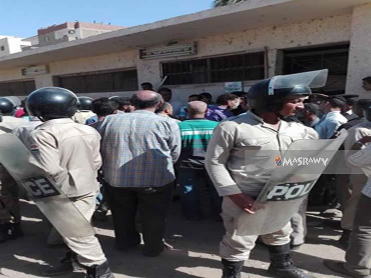 ننشر أول صور لنعوش شهداء حادث أتوبيس المنيا