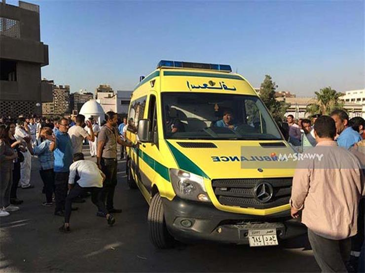 الصحة: تحطم سيارتي إسعاف تقلان مصابي حادث المنيا جراء اعتداء الأهالي