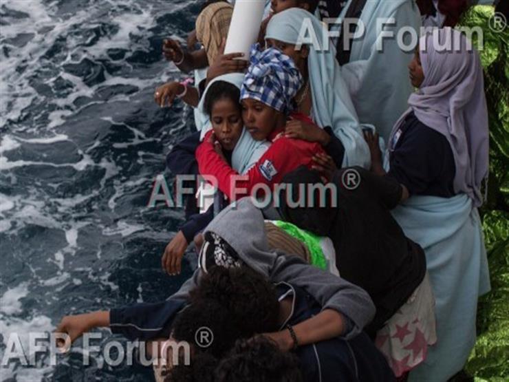 صورة وخبر: لاجئون يبحثون عن شاطئ نجاة