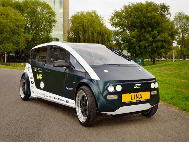 """بالفيديو.. """"LINA"""" أول سيارة نباتية قابلة للتحلل في العالم"""